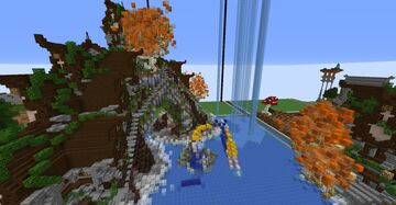 Little medieval Elven hideout Minecraft Map & Project