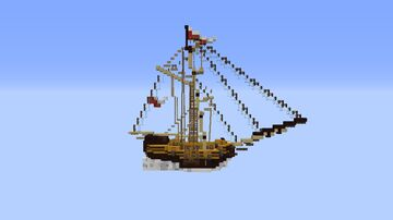 HMS Diem - By KryHavoc Minecraft Map & Project