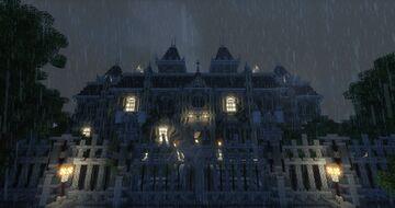 Arkham Knight — Wayne Manor •:::Gotham: Revival:::• Minecraft Map & Project