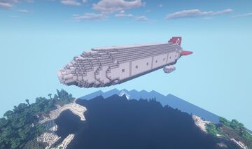 Movecraft Airship - Hercule-class Destroyer Minecraft Map & Project