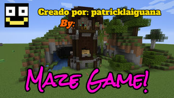 Maze Game! (Mapa de aventura, Adventure Map) [1.16+] *Eng. Version now available!* Minecraft Map & Project