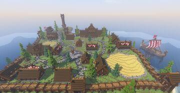 Ambattara Viking Village Minecraft Map & Project