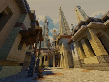 Anuba - Desert Pvp map Minecraft Map & Project