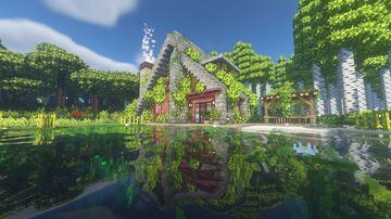 Modern Lakehouse Minecraft Map & Project