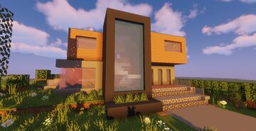 Modern House #P5 (Map + Schematic) Minecraft Map & Project
