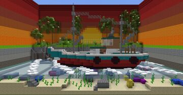 Fishing Boat Minecraft Map & Project