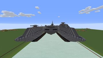 U.S.S ArrowHead from Call Of Duty Advanced Warfare Minecraft Map & Project