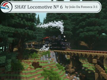 3:1 Shay Locomotive Number 6 Minecraft Map & Project