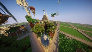 Dimension Plot Minecraft Map & Project
