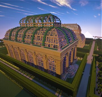 Victorian greenhouse 1 Minecraft Map & Project