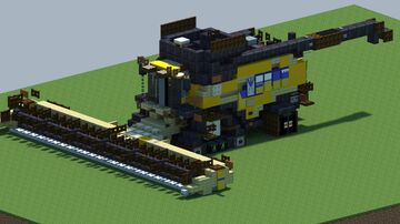 New Holland CR 10.90, Harvester [With Download] Minecraft Map & Project