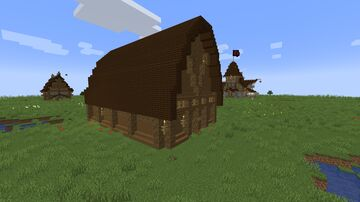 Medieval Fever (9) - Barn / Stables Minecraft Map & Project