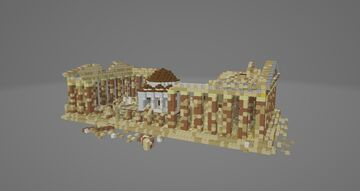 Parthenon Mosque (1700-1900s) Minecraft Map & Project