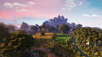 Fiore - A small italian styled hill town with surrounding Minecraft Map & Project