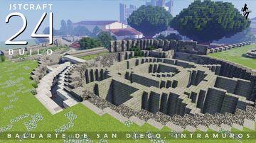 Baluarte de San Diego in Intramuros, Manila Minecraft Map & Project