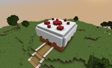 Cake Factory Minecraft Map & Project