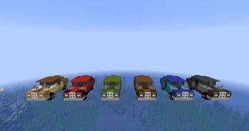 Tropico 6 Vehicles Minecraft Map & Project