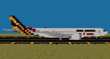A330neo Series (1:1) [Revised] Minecraft Map & Project