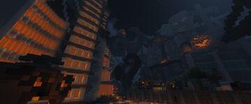 Halloween Lobby CubeCraft 1000x1000 Minecraft Map & Project