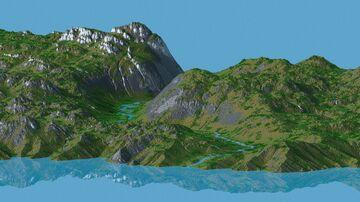 Green Island 1.14-1.16 (4096x4096) Minecraft Map & Project