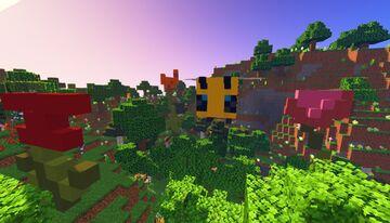 Gigant queen bee statue Minecraft Map & Project
