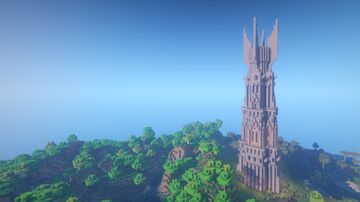 Tower of Isengard (survival base) Minecraft Map & Project