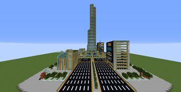 Futuristic Tower UCX Minecraft Map & Project
