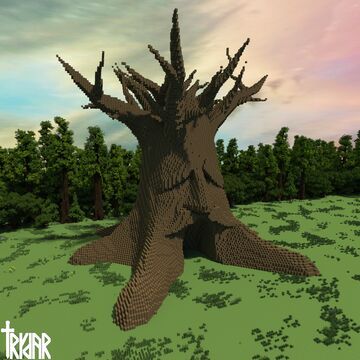The Great Deku Tree Minecraft Map & Project