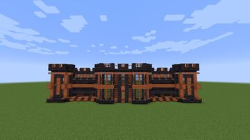 Incomplete Nether Mansion Minecraft Map & Project