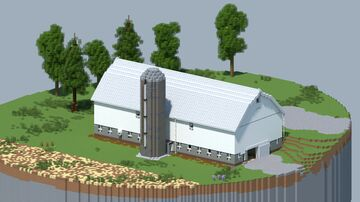 Farm Barn #2 [With Download] Minecraft Map & Project