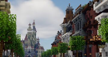 CraftMagique || Themepark [Paused] Minecraft Map & Project