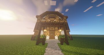Melonness Two Story Inn Minecraft Map & Project