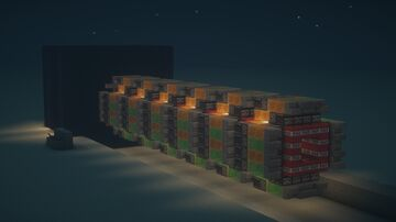 Fully Functional Redstone Explosive Missile Minecraft Map & Project
