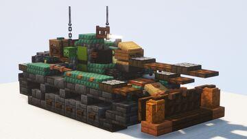 M48A2 Räumpanzer shovel tank - 1.5:1 scale Minecraft Map & Project