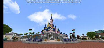 Map Disneyland Paris Minecraft Map & Project