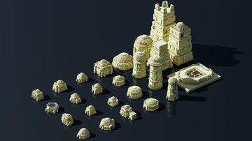 tatooine assets Minecraft Map & Project