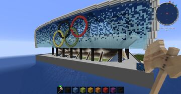 Olympic soccer stadium Minecraft Map & Project