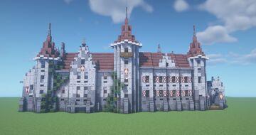 Mühlenhof castle Minecraft Map & Project