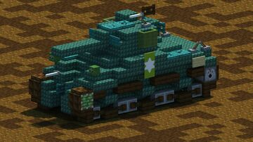 M4A1 Sherman tank [With Download] Minecraft Map & Project