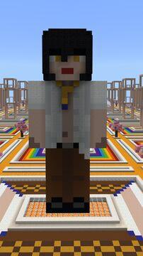Kasane Yuchi (Nina Tanzawa) - Kasane - Player Statue Minecraft Map & Project