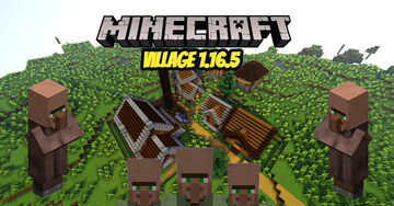 Minecraft new 1.16.5 village by TheDream31 Minecraft Map & Project