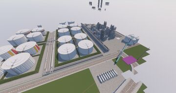 Oil Refinery Minecraft Map & Project