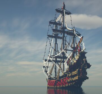 Queen Anne's Revenge - Pirates of the Caribbean Dead men tell no Tales NEW and updated version Minecraft Map & Project