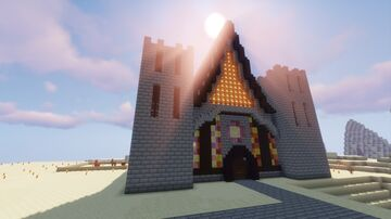 The great Church Minecraft Map & Project