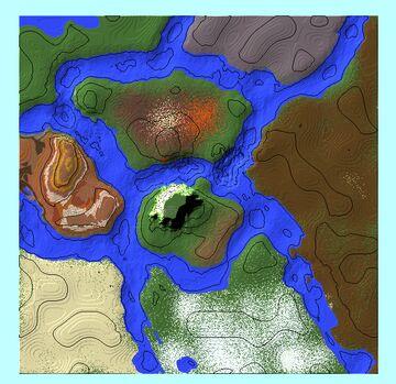 Warped Biomes Minecraft Map & Project