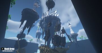 Floating Kingdom by Noob Army Minecraft Map & Project