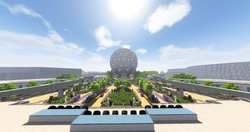 Walt Disney World - The Palace Network - DHS/Epcot Minecraft Map & Project
