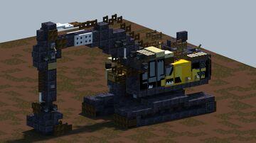 Volvo EC250EL, Excavator [With Download] Minecraft Map & Project