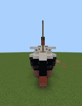 SS Raleigh (1.5 scale) (My design) (Carolina Lines) (in the future) Minecraft Map & Project