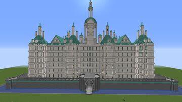Pangaea Castle, One Piece Minecraft Map & Project